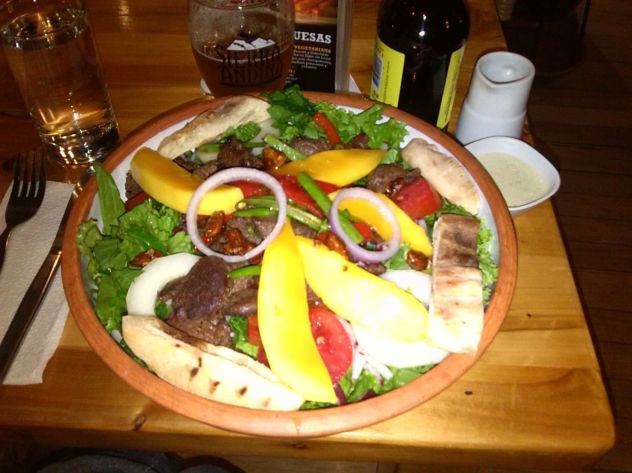 ensalada + Sierra Andina