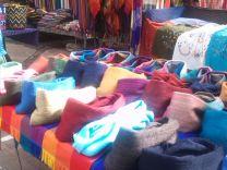 Wollprodukte Otavalo Markt