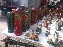 Schnitzfiguren Otavalo Ecuador