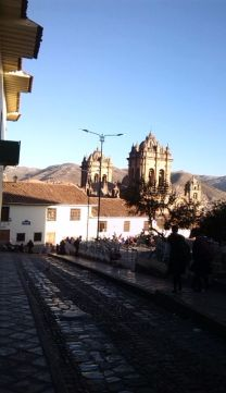 Kathedrale in Cusco