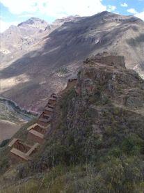 Siedlung am Gipfelhang
