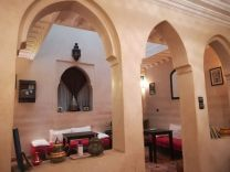 Traditionelles Riad