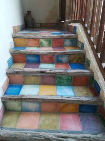 Mosaiktreppe