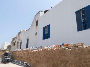 Teil der Bastionsmauer